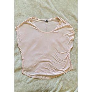 Millennial Pink Loose-fitting T-Shirt
